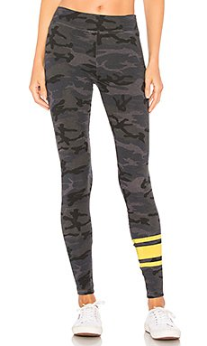 Athletic Stripes Legging                                             SUNDRY