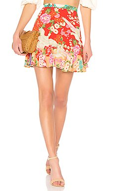 x REVOLVE Delilah Patchwork Mini Skirt                                             Spell & The Gypsy Collective