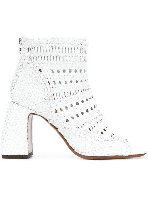 L\'Autre Chose Eyelet Detail Boots - Farfetch