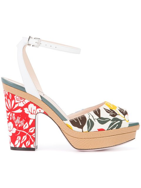 Fendi Peep-toe Sandals - Farfetch