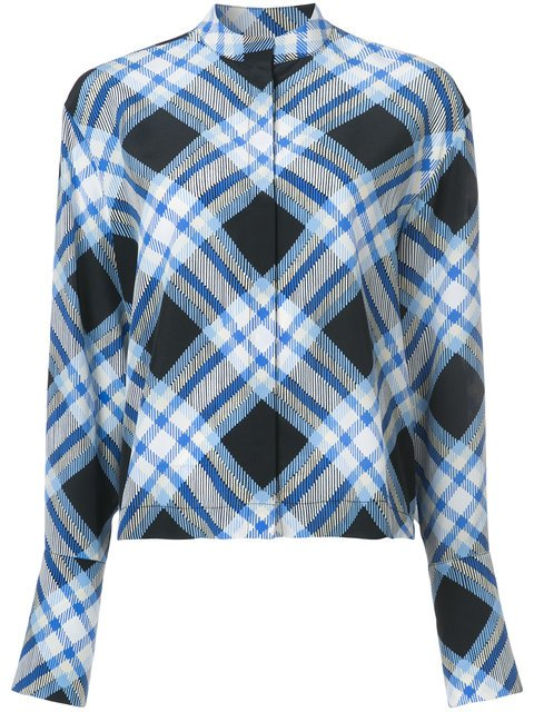 Dvf Diane Von Furstenberg Checked Blouse - Farfetch