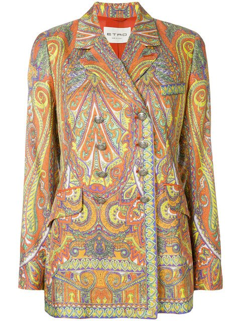 Etro Paisley Print Jacket - Farfetch