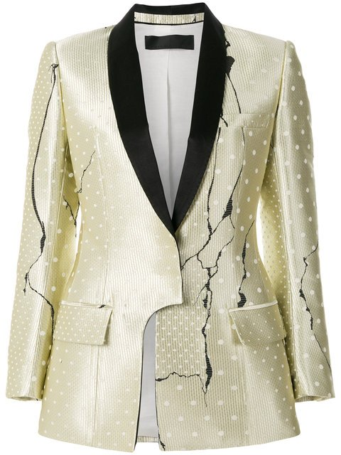 Haider Ackermann Polka Dot Patterned Blazer - Farfetch