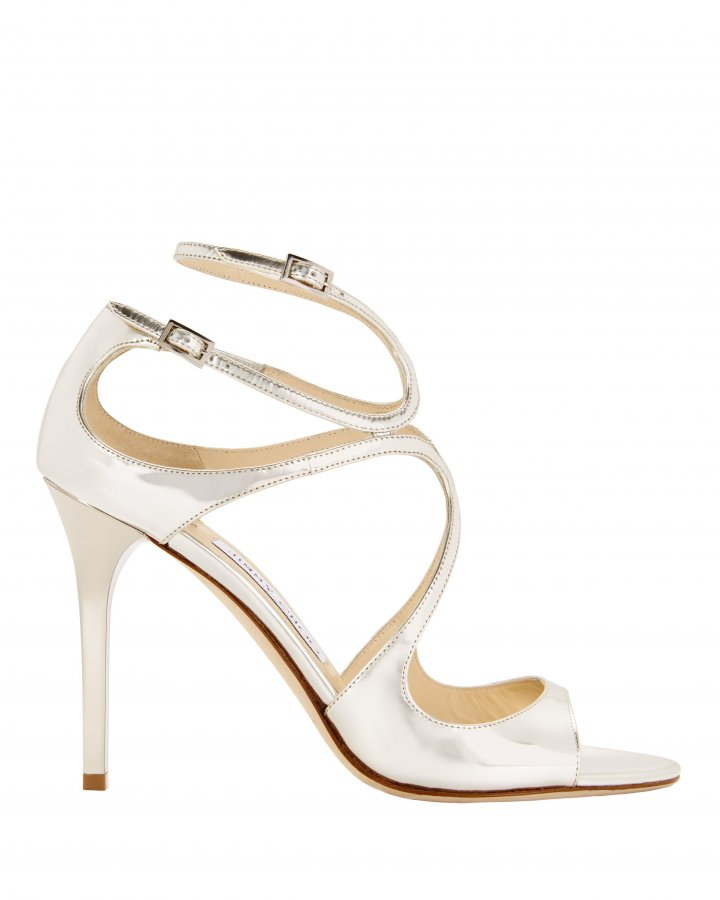 Lang Mirrored Sandals