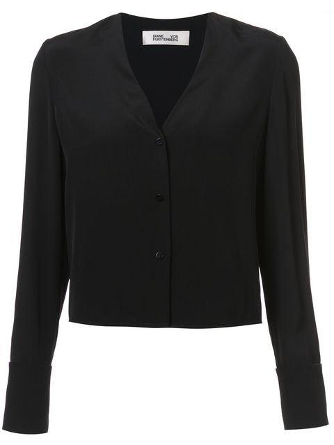 Dvf Diane Von Furstenberg Cuffed Shirt - Farfetch