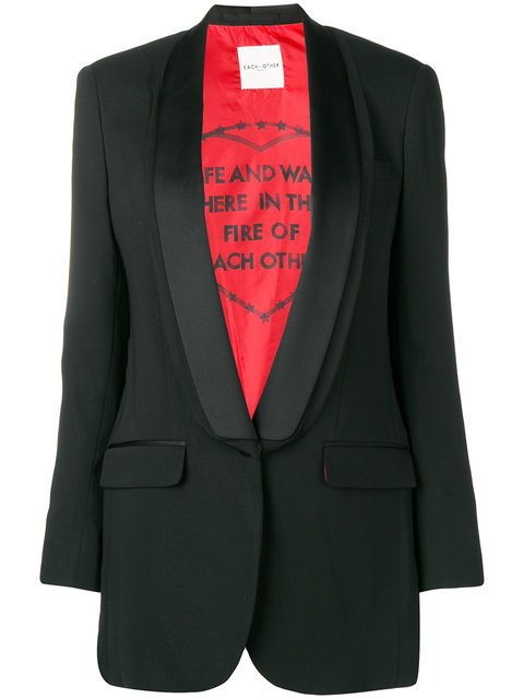 Each X Other Shawl Collar Blazer - Farfetch