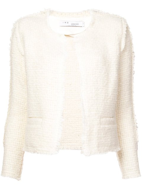 Iro Cropped Tweed Jacket - Farfetch