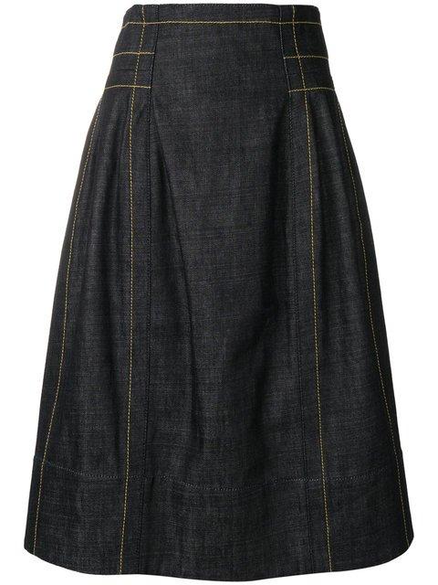 Marni High Waisted Full Skirt - Farfetch