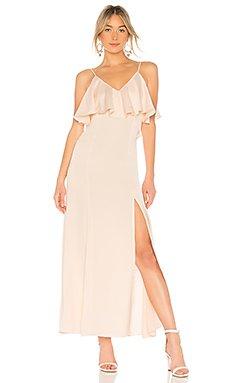 V Neck Ruffle Gown                                             LPA