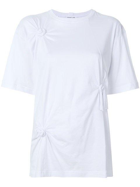 Helmut Lang Knotted T-shirt - Farfetch