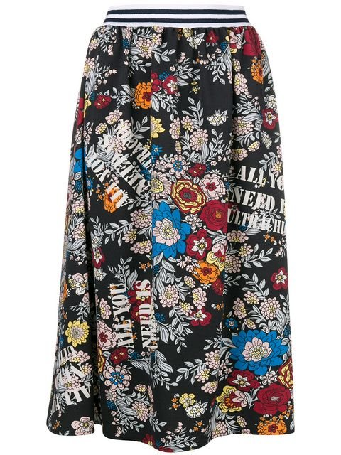 Ultràchic Floral Print Skirt - Farfetch