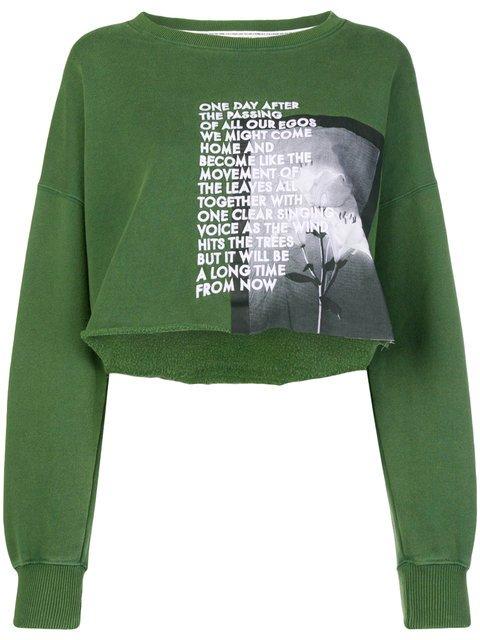 Each X Other Long Sleeved Loose Sweatshirt  - Farfetch