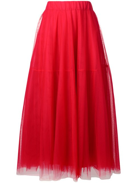 P.A.R.O.S.H. Tulle Full Skirt - Farfetch