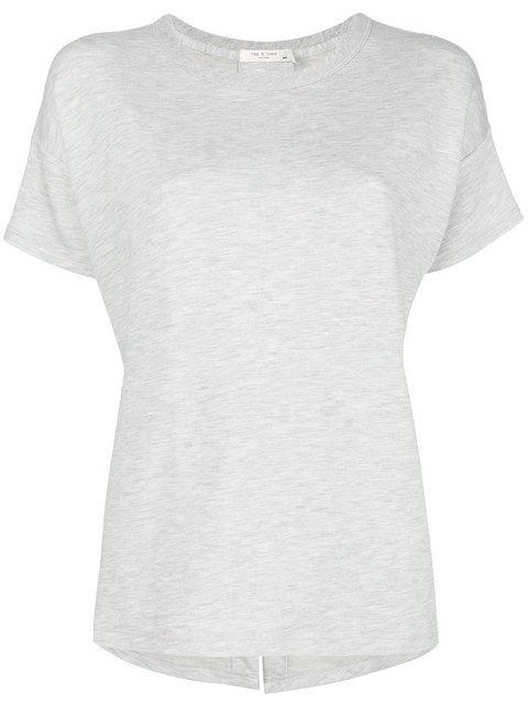Rag & Bone Kat Split Back T-shirt - Farfetch