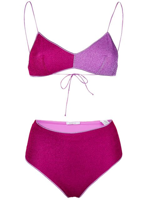 Oseree High Rise Bikini Set  - Farfetch