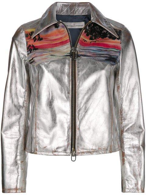 Golden Goose Deluxe Brand Mira Sunset Print Jacket - Farfetch