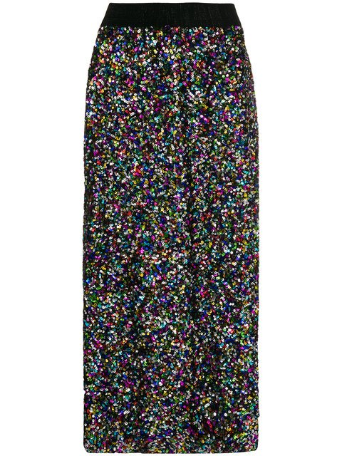 Ultràchic Sequin Midi Skirt - Farfetch
