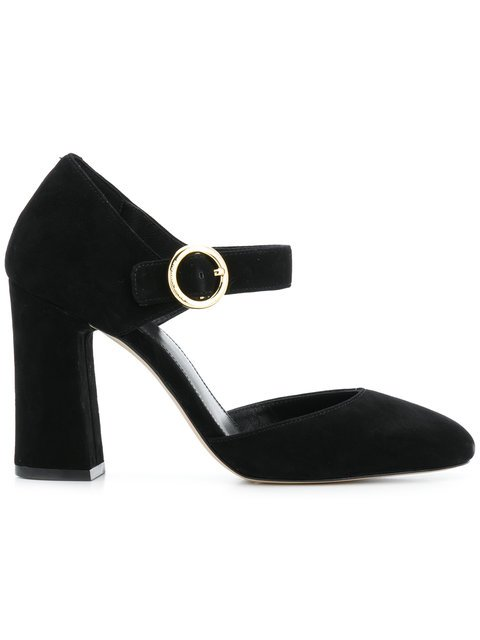 Michael Michael Kors Chunky Heeled Pumps - Farfetch
