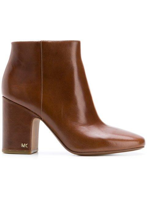 Michael Michael Kors Chunky Heeled Boots  - Farfetch