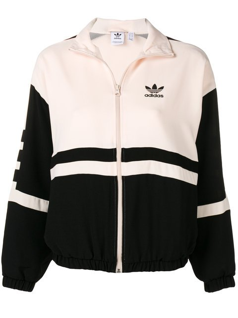 Adidas Two-tone Logo Bomber Jacket - Farfetch