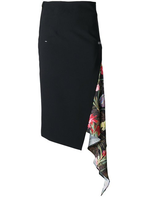 Off-White Mid-length Pencil Skirt - Farfetch