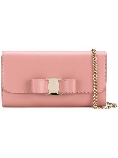 Salvatore Ferragamo Bow Detailed Purse - Farfetch