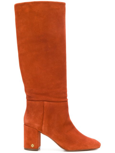 Tory Burch Chunky Heeled Boots  - Farfetch