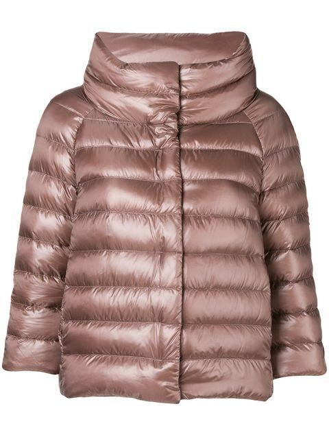 Herno Three-quarter Sleeved Jacket - Farfetch