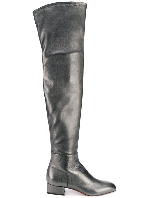 Santoni Knee-length Boots - Farfetch
