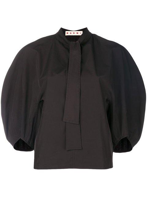 Marni Wide-sleeved Blouse - Farfetch