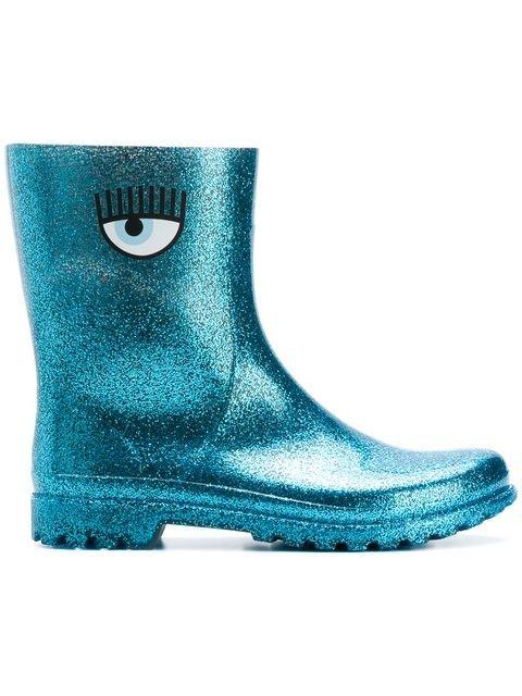 Chiara Ferragni Eye Rain Boots - Farfetch