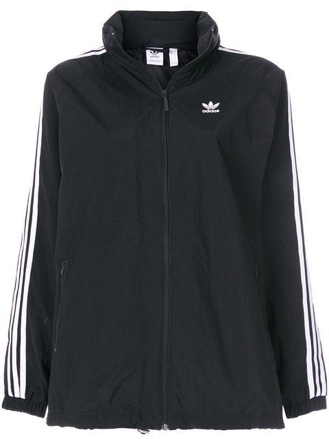 Adidas Adidas Originals 3-Striped Windbreaker Jacket - Farfetch