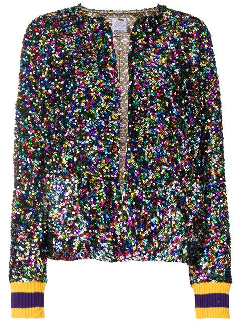 Ultràchic Sequin Embroidered Jacket - Farfetch