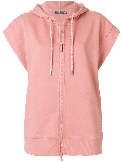 Adidas By Stella Mccartney Short-sleeved Yoga Hoodie - Farfetch