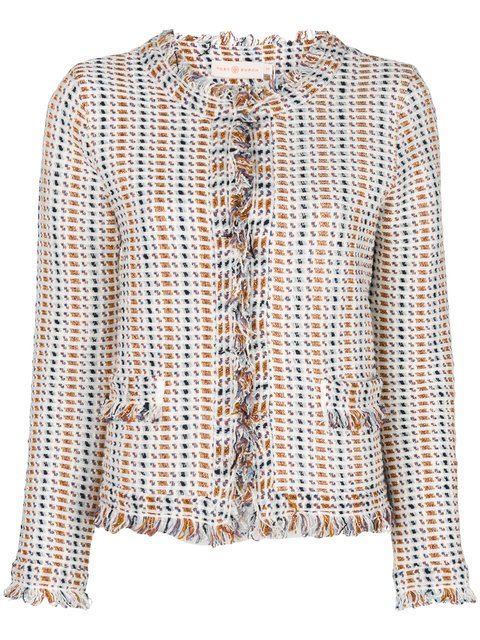Tory Burch Hollis Cardigan Jacket - Farfetch
