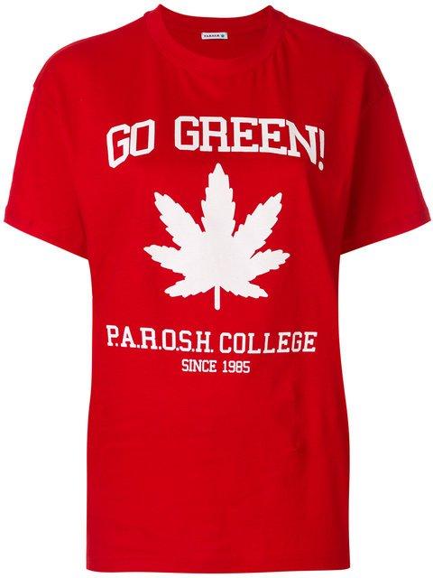 P.A.R.O.S.H. Go Green T-shirt  - Farfetch