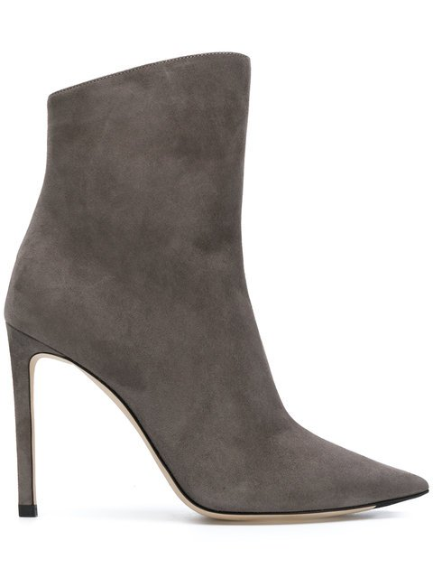 Jimmy Choo Helaine 100 Booties - Farfetch