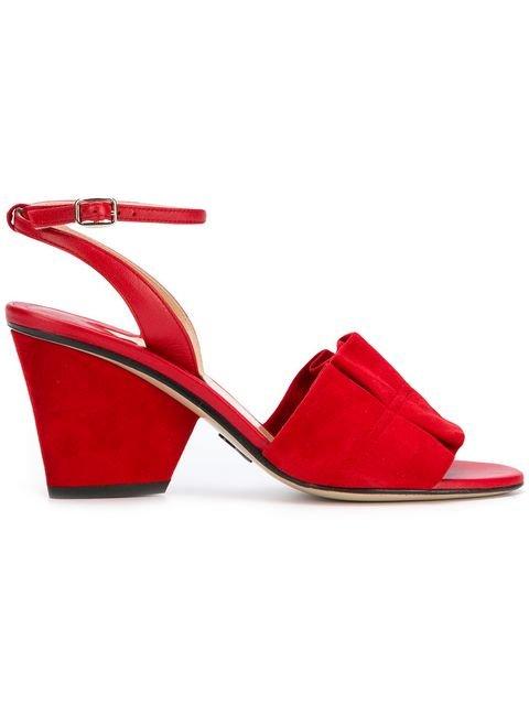 Paul Andrew Open-toe Ruffle Sandals - Farfetch