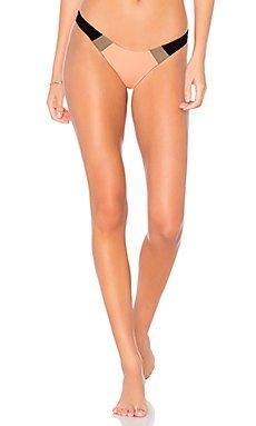 Color Block Bikini Bottom                                             PILYQ