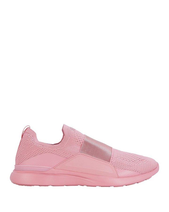 Techloom Bliss Low-Top Blush Sneakers