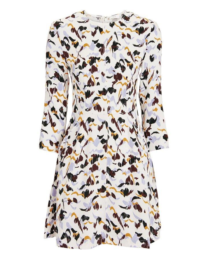 Terry Floral Mini Dress