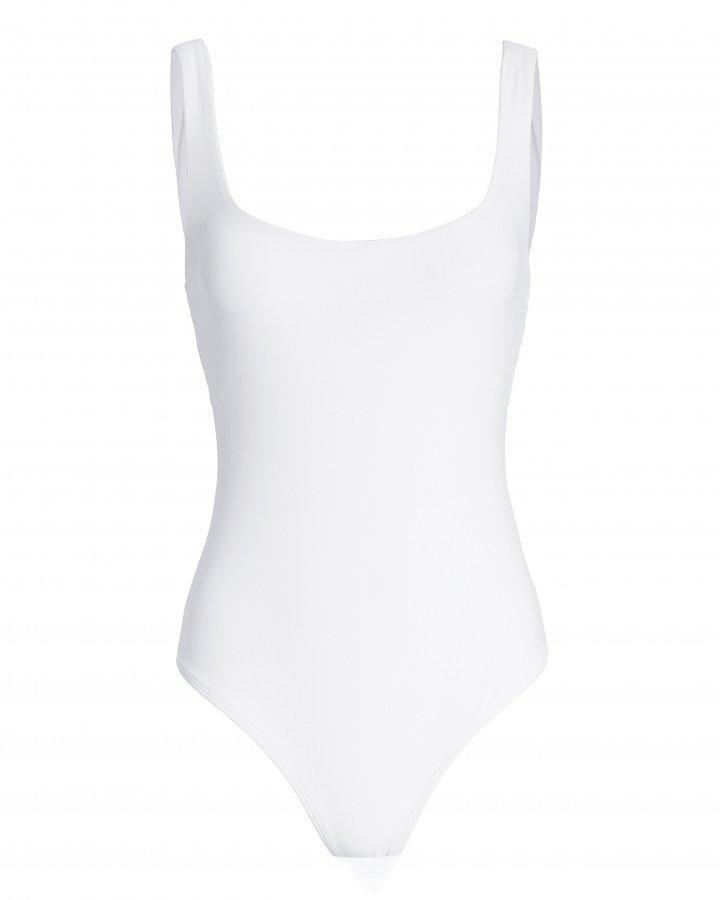 Mott White Bodysuit