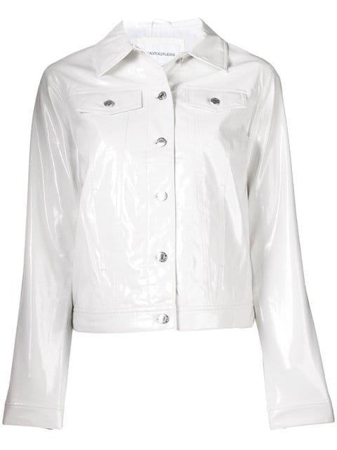 Calvin Klein Jeans Est. 1978 Patent Casual Jacket - Farfetch