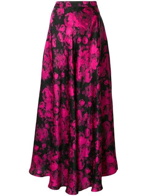 Stella McCartney Flared Patterned Maxi Skirt - Farfetch