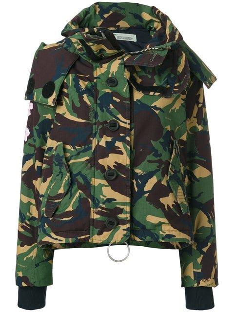 Off-White Camouflage Jacket - Farfetch