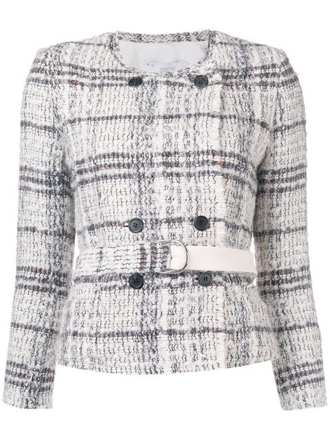 Iro Belted Tweed Jacket - Farfetch