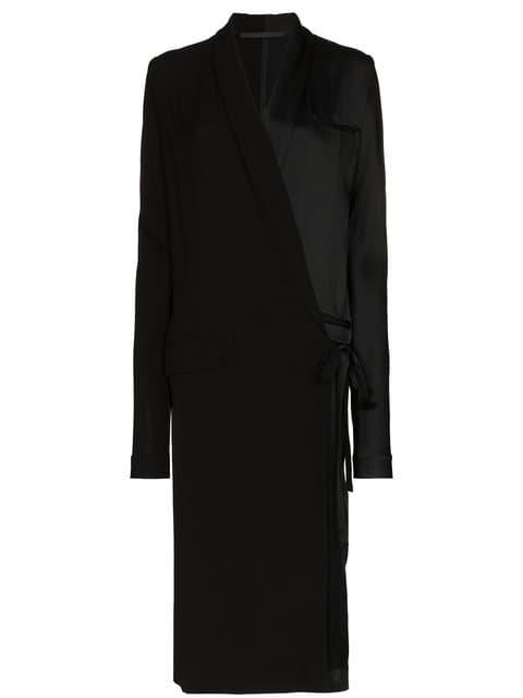 Haider Ackermann Long Sleeve Maxi Coat - Farfetch
