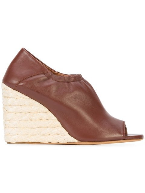 Derek Lam Cosimia Straw Wedge - Farfetch