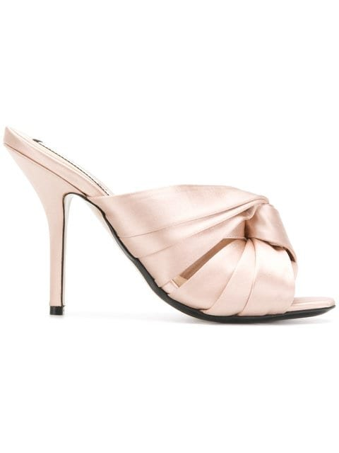 Nº21 Knotted Stiletto Mules - Farfetch