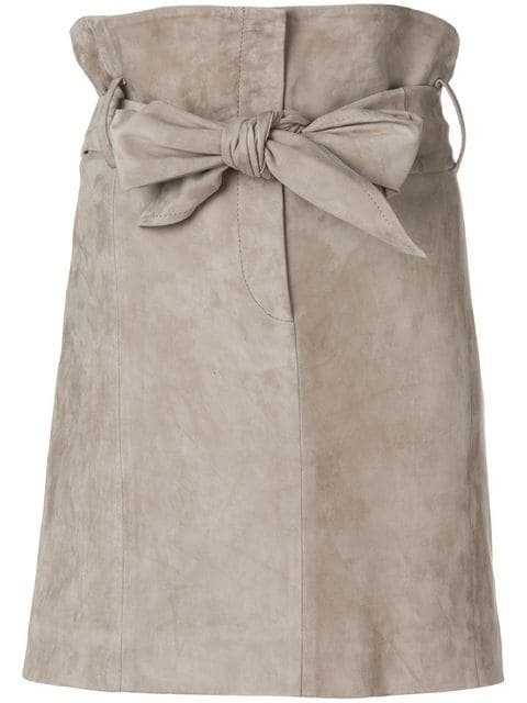 Iro Bow Tie High Waisted Skirt - Farfetch